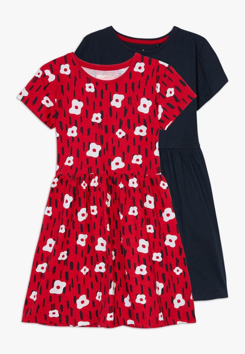Lemon Beret - SMALL GIRLS DRESS 2 PACK - Jerseyklänning - navy blazer