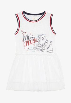 SMALL GIRLS SINGLET - Jerseyjurk - optical white