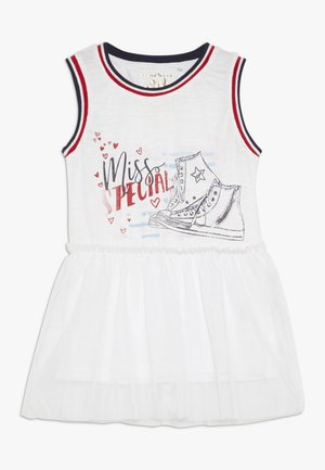 SMALL GIRLS SINGLET - Sukienka z dżerseju - optical white