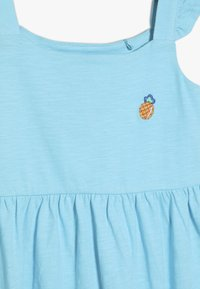 Lemon Beret - SMALL GIRLS DRESS - Jersey dress - turquoise - 4