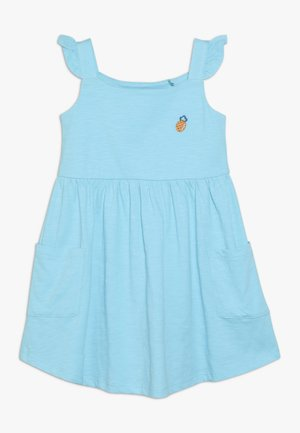 SMALL GIRLS DRESS - Jersey dress - turquoise