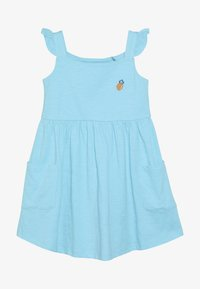Lemon Beret - SMALL GIRLS DRESS - Jersey dress - turquoise - 3