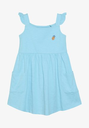 SMALL GIRLS DRESS - Žerzejové šaty - turquoise