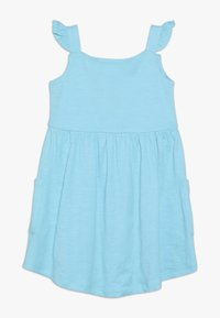Lemon Beret - SMALL GIRLS DRESS - Jersey dress - turquoise - 1
