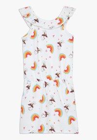Lemon Beret - SMALL GIRLS DRESS - Vestido ligero - optical white - 0