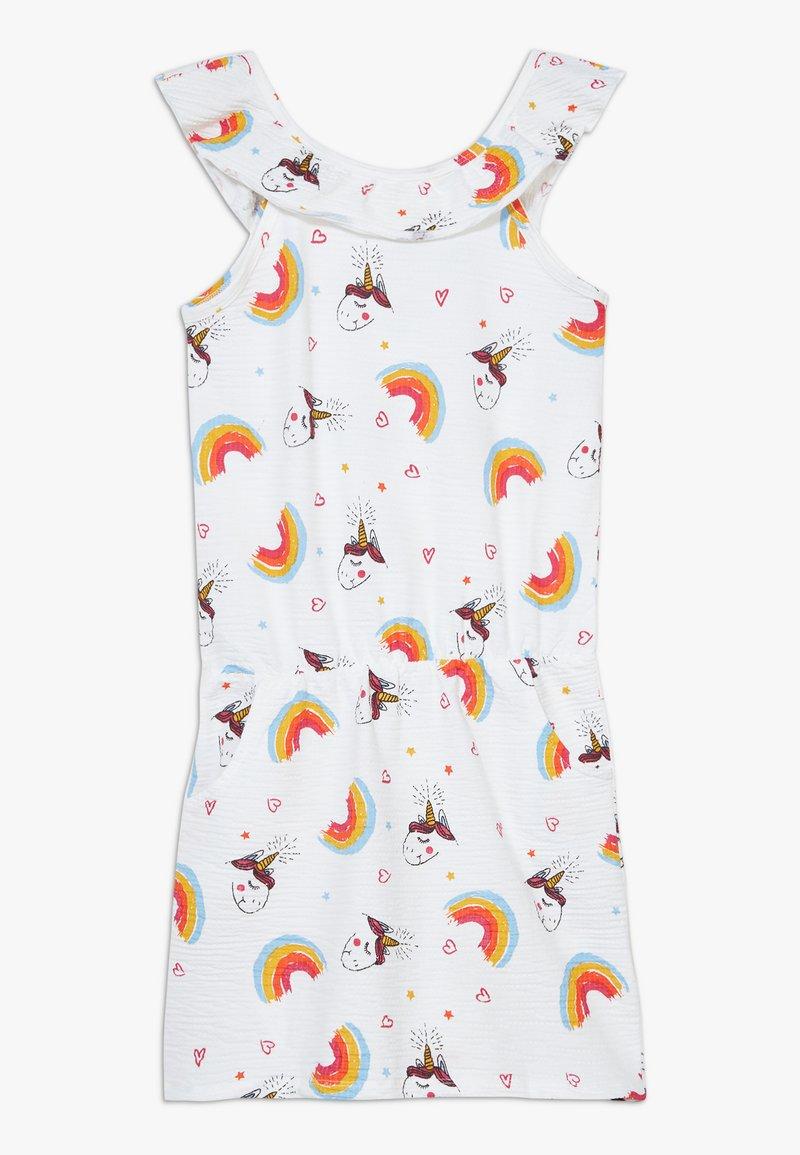 Lemon Beret - SMALL GIRLS DRESS - Vestido ligero - optical white
