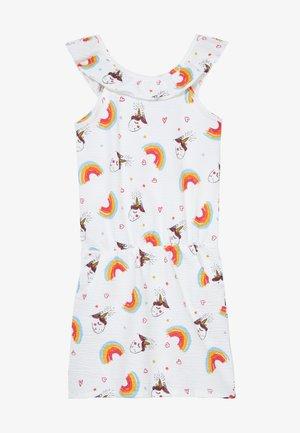 SMALL GIRLS DRESS - Jersey dress - optical white