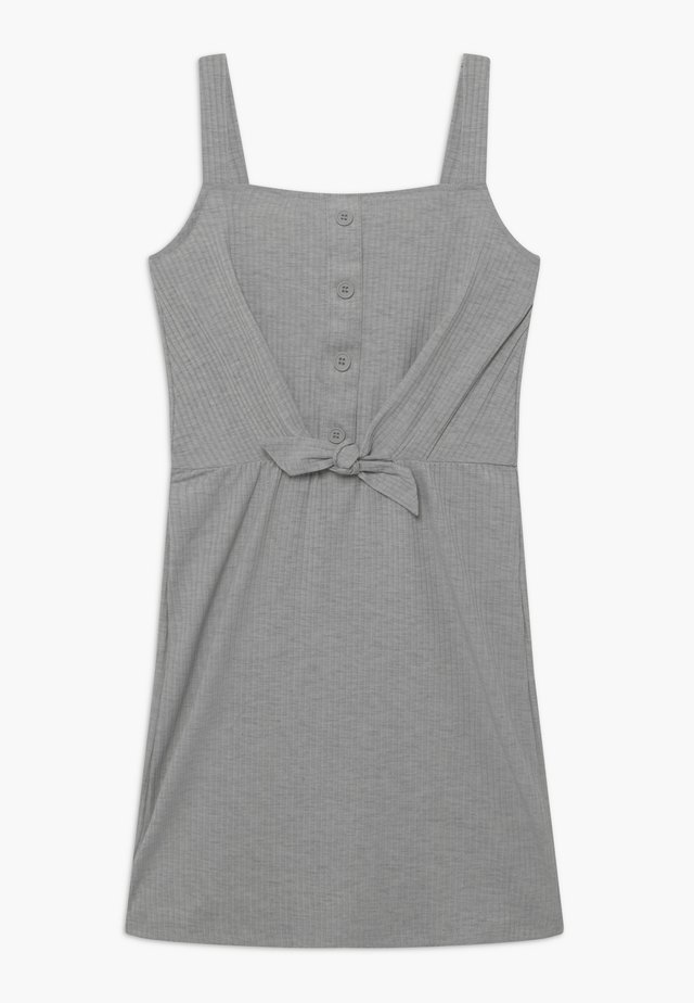TEEN GIRLS - Žerzejové šaty - light grey