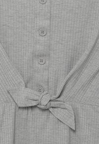 Lemon Beret - TEEN GIRLS - Žerzejové šaty - light grey - 3