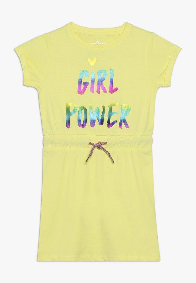 SMALL GIRLS DRESS - Žerzejové šaty - limelight