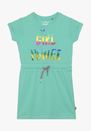 SMALL GIRLS DRESS - Jersey dress - mint leaf