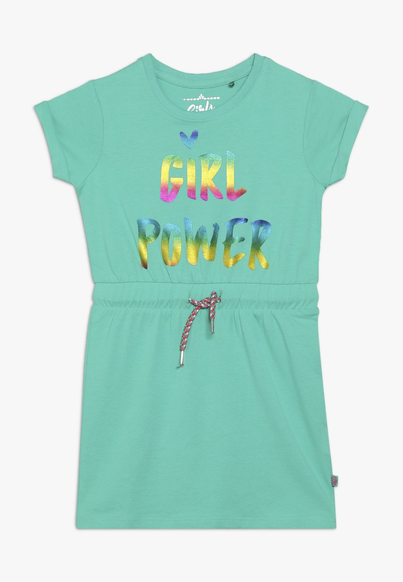 Lemon Beret - SMALL GIRLS DRESS - Jersey dress - mint leaf
