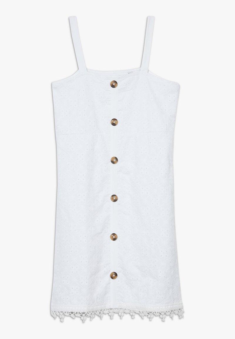 Lemon Beret - TEEN GIRLS DRESS - Day dress - optical white