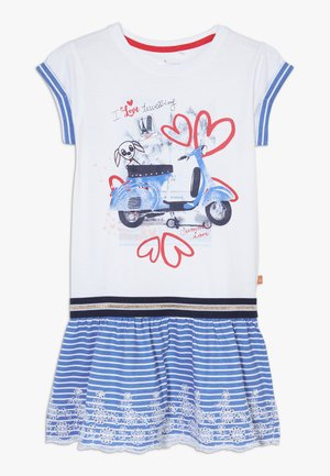 SMALL GIRLS DRESS - Jersey dress - optical white