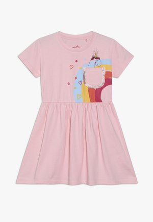 SMALL GIRLS DRESS - Jerseykjole - orchid pink
