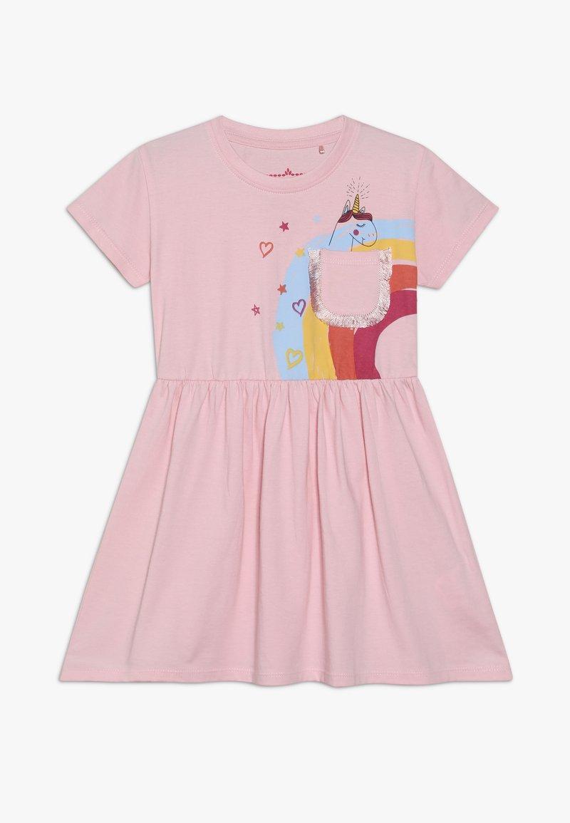 Lemon Beret - SMALL GIRLS DRESS - Jersey dress - orchid pink
