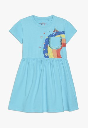 SMALL GIRLS DRESS - Jerseykleid - bachelor button