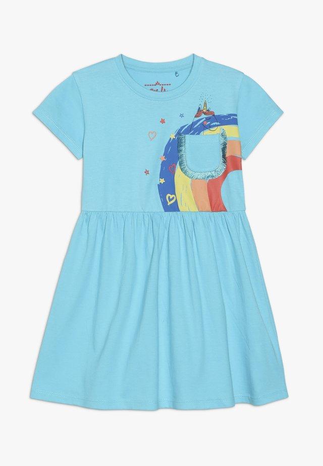 SMALL GIRLS DRESS - Žerzejové šaty - bachelor button