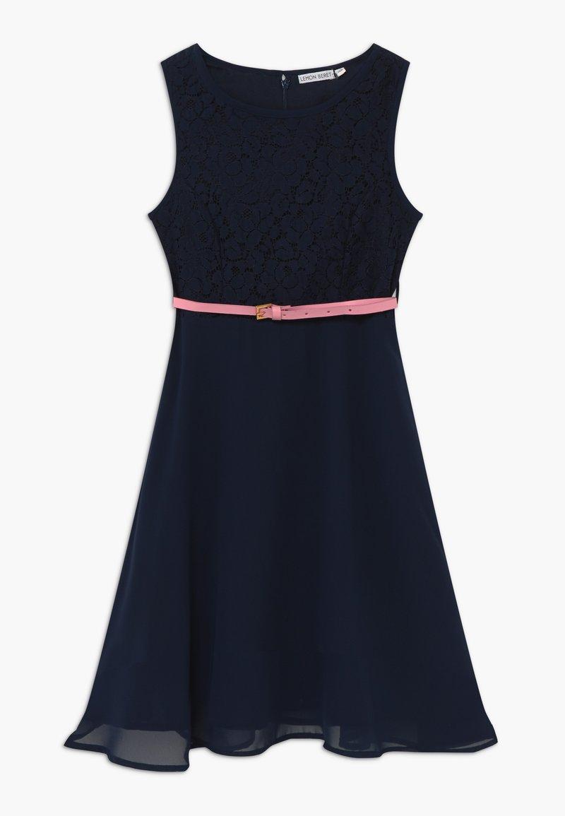 Lemon Beret - TEEN GIRLS - Cocktail dress / Party dress - medieval blue