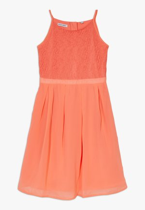 FESTIVE DRESS  - Robe de soirée - living coral