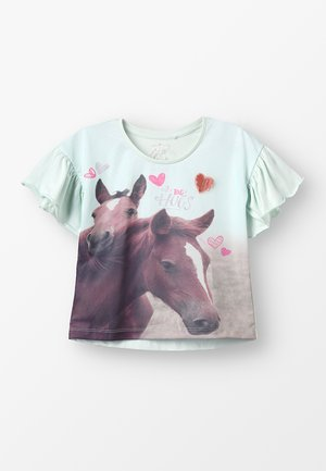 SMALL GIRLS - T-shirt con stampa - mint