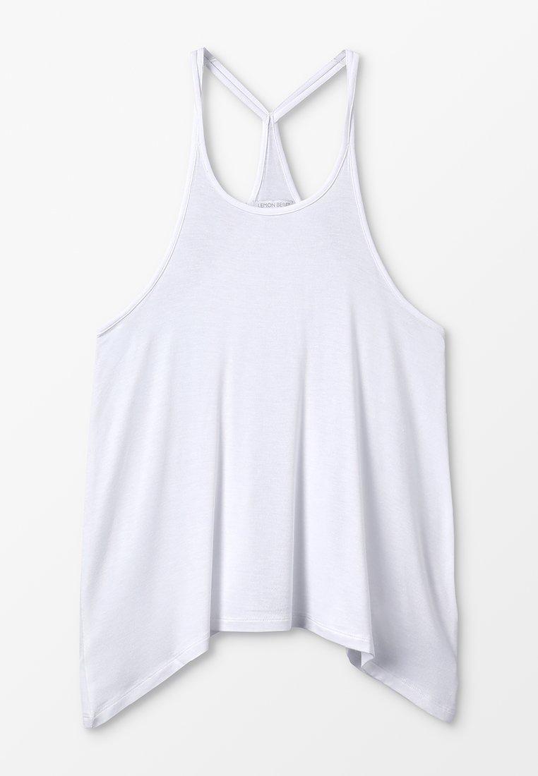 Lemon Beret - TEEN GIRLS SINGLET - Top - optical white