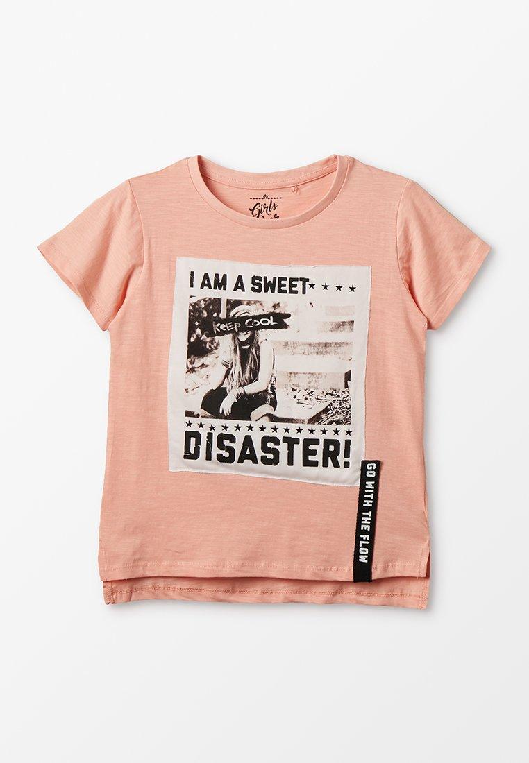 Lemon Beret - TEEN GIRLS - T-Shirt print - peach as sample