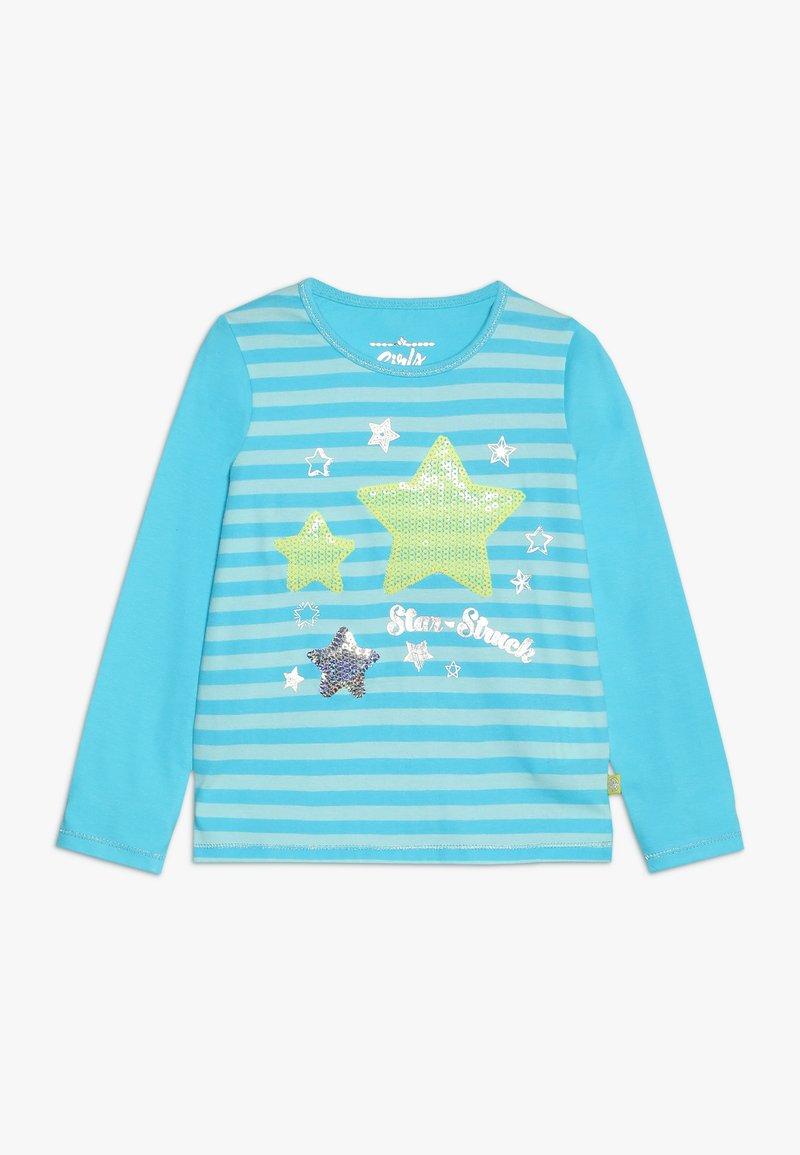 Lemon Beret - SMALL GIRLS - T-shirt à manches longues - bachelor button