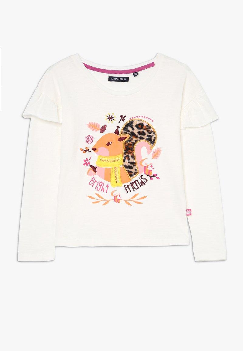 Lemon Beret - SMALL GIRLS - Långärmad tröja - marshmallow