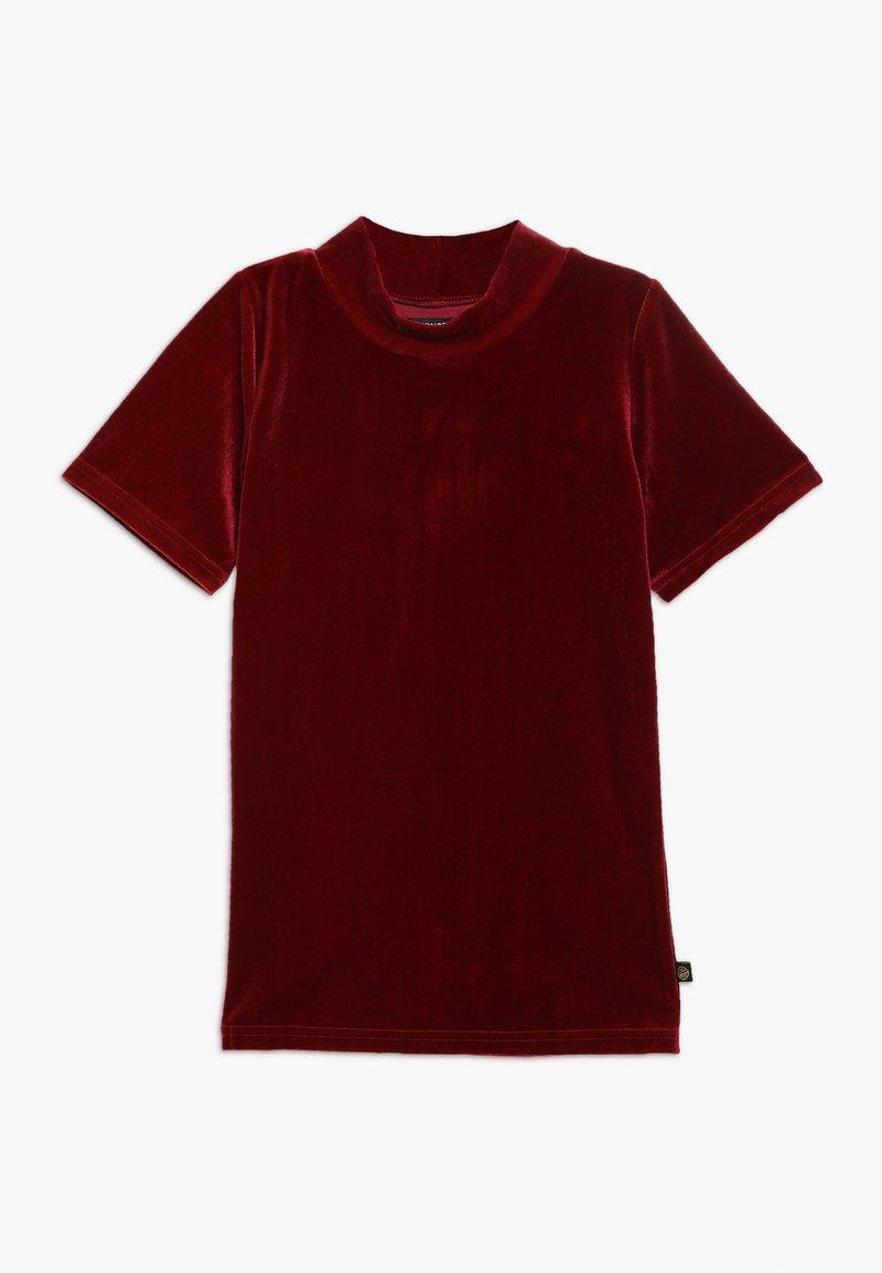 Lemon Beret - TEEN GIRLS  - Print T-shirt - biking red