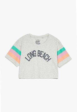 TEEN GIRLS  - T-shirt imprimé - light grey melange