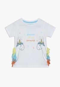 Lemon Beret - SMALL GIRLS - Print T-shirt - optical white - 0