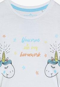 Lemon Beret - SMALL GIRLS - Print T-shirt - optical white - 3