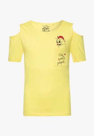 TEEN GIRLS - Print T-shirt - limelight