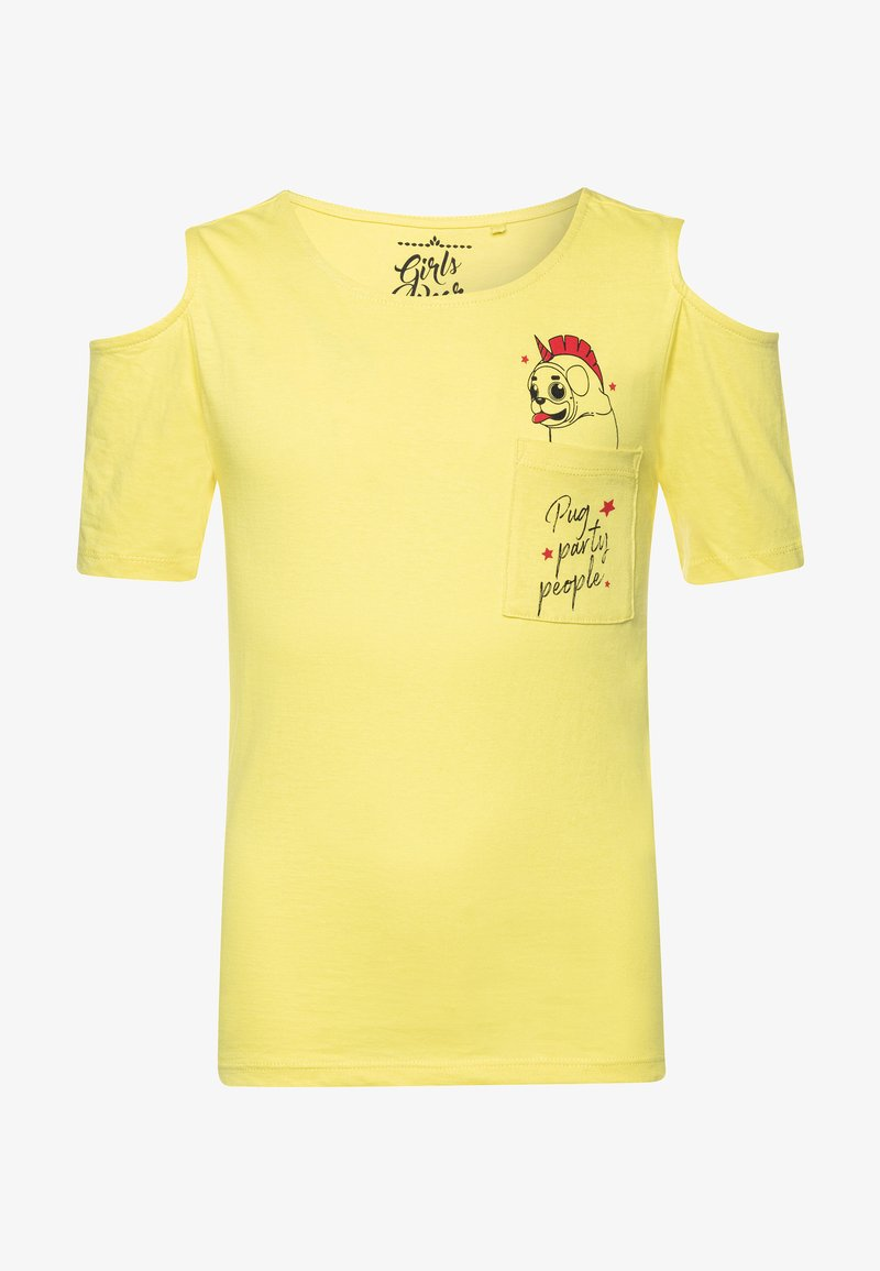 Lemon Beret - TEEN GIRLS - T-shirts med print - limelight