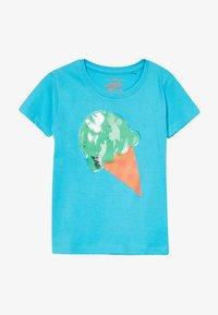 Lemon Beret - SMALL GIRLS  - T-shirt imprimé - bachelor button - 2