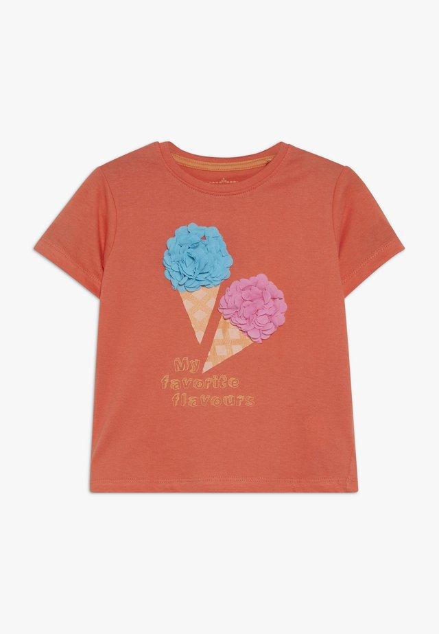 T-shirt med print - living coral