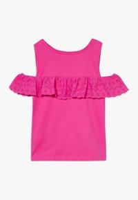 Lemon Beret - TEEN GIRLS - T-shirt print - beetroot purple - 1