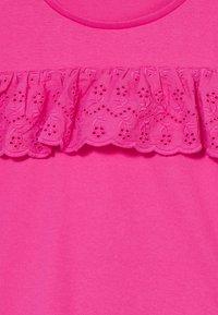 Lemon Beret - TEEN GIRLS - T-shirt print - beetroot purple - 3