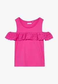 Lemon Beret - TEEN GIRLS - T-shirt print - beetroot purple - 2