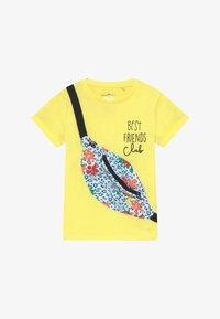 Lemon Beret - SMALL GIRLS - T-shirt imprimé - limelight - 2