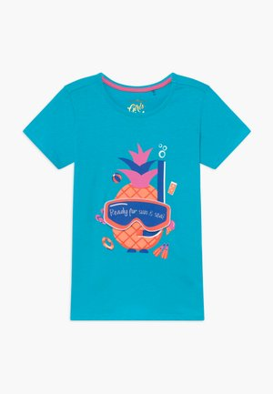 SMALL GIRLS - T-shirt imprimé - bachelor button