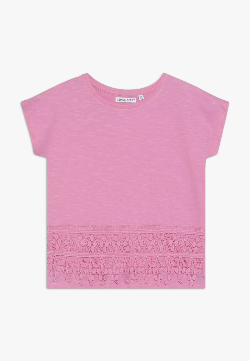 Lemon Beret - SMALL GIRLS - T-shirt imprimé - fushia pink