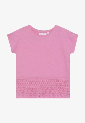 SMALL GIRLS - T-shirt z nadrukiem - fushia pink