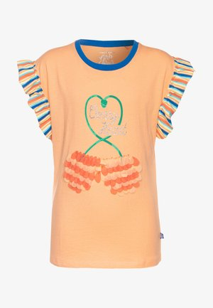 SMALL GIRLS  - T-shirt imprimé - canteloupe