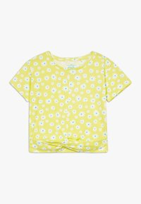 Lemon Beret - SMALL GIRLS  - T-shirt print - limelight - 0
