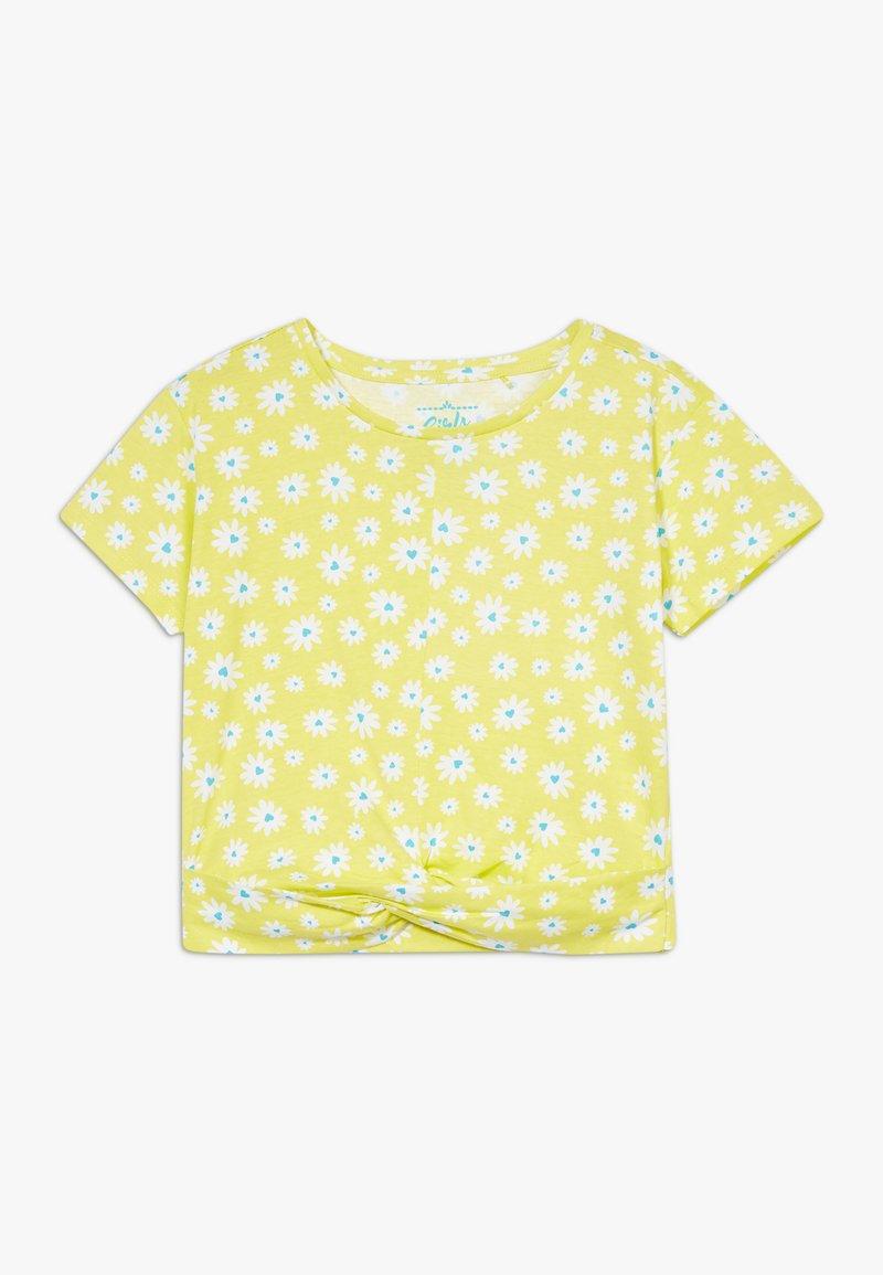 Lemon Beret - SMALL GIRLS  - T-shirt print - limelight