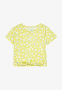 Lemon Beret - SMALL GIRLS  - T-shirt print - limelight - 2