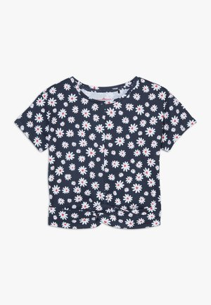 SMALL GIRLS  - T-shirt imprimé - navy blazer