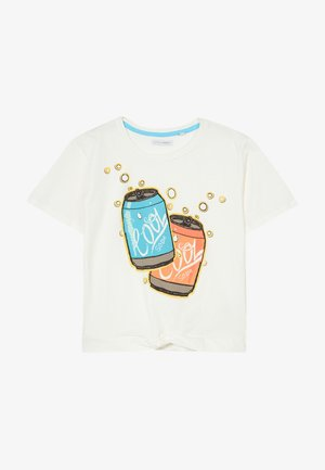 TEEN GIRLS  - T-shirt imprimé - marshmallow